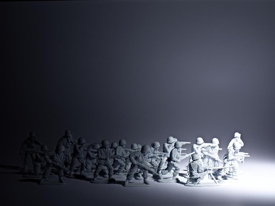 Petits soldats-Black&White (c) PHILIPPE LACOMBE